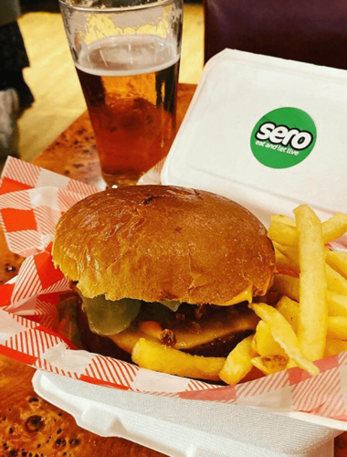 ABOUT TOWN: STREET FOOD WAREHOUSE MEETS SERO!