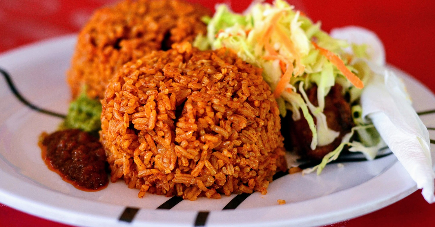 Image of Jollof rice