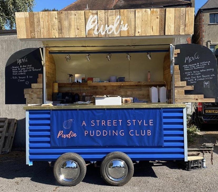 Pwdin Street Food Set Up